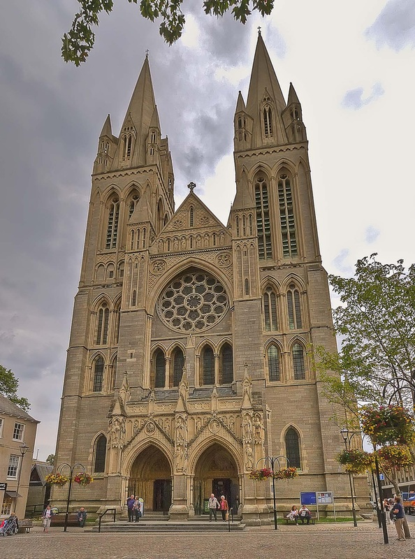 Truro Cathedral on st marys manor